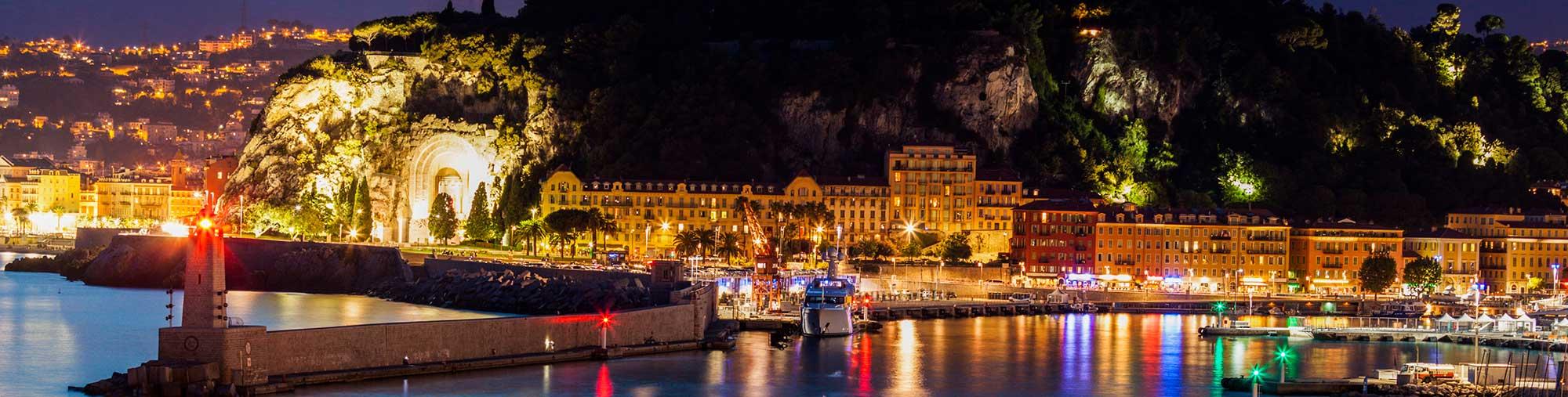 Soirée privée sur la Cote d'Azur